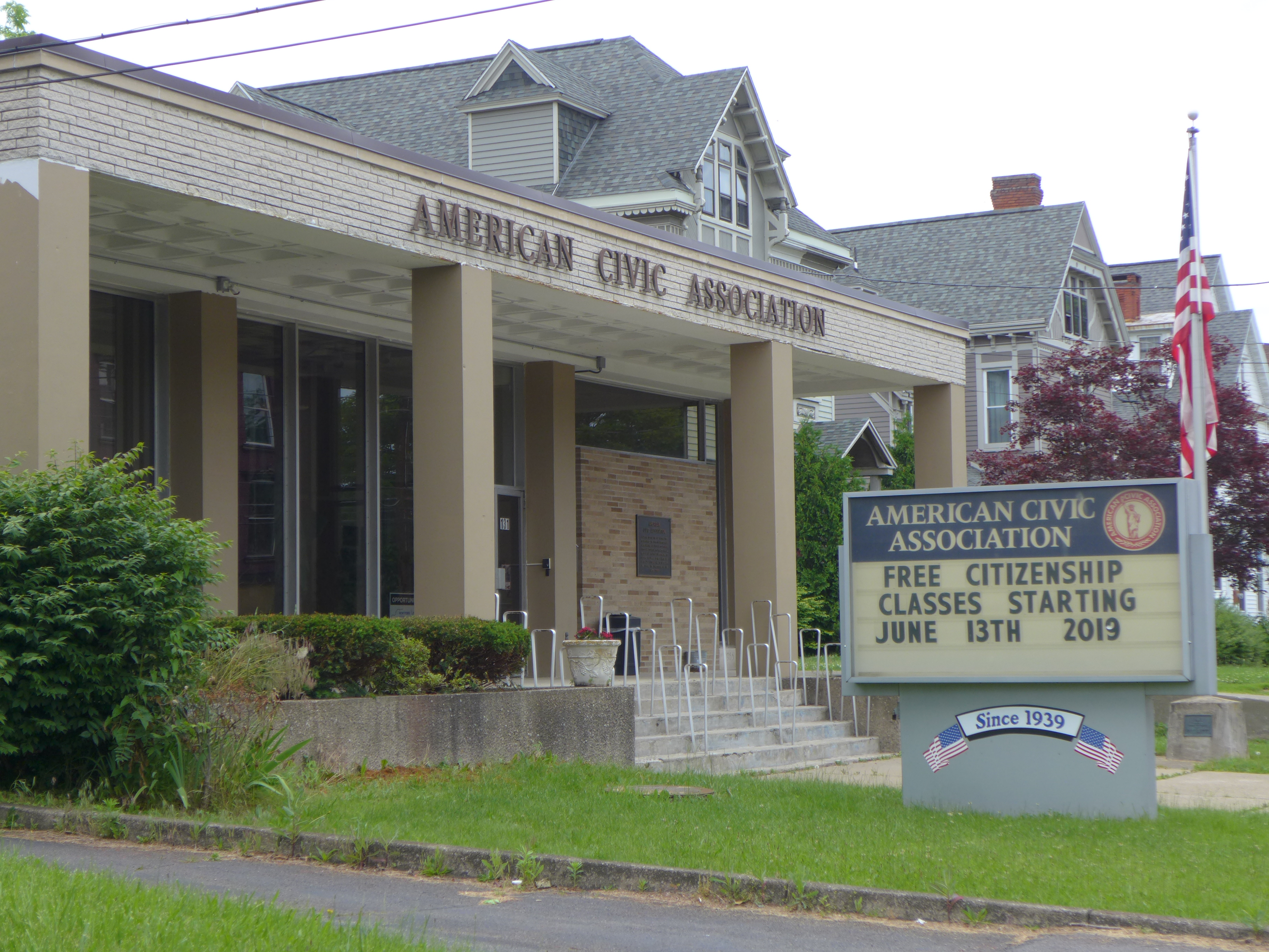 American Civic Association, Binghamton, NY, 2019